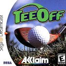 Tee Off Golf Dreamcast Great Condition Fast Shipping
