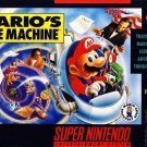 Mario's Time Machine SNES Great Condition Fast Shipping