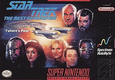 Star Trek The Next Generation SNES Great Condition
