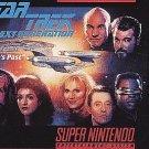 Star Trek The Next Generation SNES Great Condition