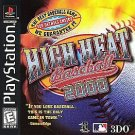 High Heat Baseball 2000 PS1 Great Condition Complete