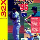 RBI Baseball '95 Sega 32X Great Condition Fast Shipping