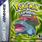 Pokemon Leaf Green Version GBA Great Condition Fast Shipping