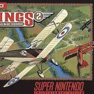 Wings 2 Aces High SNES Great Condition Fast Shipping