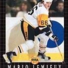 Mario Lemieux Hockey Sega Genesis Great Condition Fast Shipping