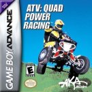 ATV Quad Power Racing GBA Great Condition Fast Shipping
