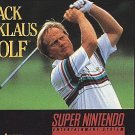 Jack Nicklaus Golf SNES Great Condition Fast Shipping
