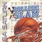 College Slam Sega Saturn Great Condition Fast Shipping