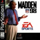 Madden NFL '98 PS1 Great Condition Fast Shipping