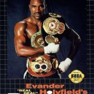 "Evander Holyfield's ""Real Deal"" Boxing Sega Genesis Great Condition"