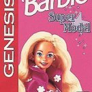 Barbie Super Model Sega Genesis Great Condition Fast Shipping