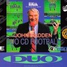 John Madden Duo CD Football Turbo Grafx CD Brand New Fast Shipping