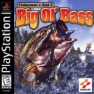 Fisherman's Bait 2 Big Ol' Bass PS1 Great Condition Fast Shipping