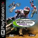 Championship Motocross 2001 Featuring Ricky Carmichael PS1 Great Condition