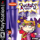 Rugrats Totally Angelica PS1 Great Condition Complete Fast Shipping