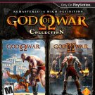 God Of War Collection PS3 Great Condition Fast Shipping
