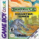 Godzilla The Series Monster Wars Gameboy Color Rare