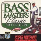 Bass Masters Classic Pro Edition SNES Great Condition