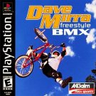Dave Mirra Freestyle BMX PS1 Great Condition Complete Fast Shipping
