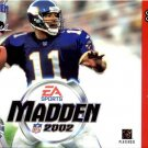 Madden NFL 2002 N64 Great Condition Fast Shipping