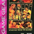 WWF Raw Game Gear Great Condition Fast Shipping