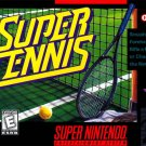 Super Tennis SNES Great Condition Fast Shipping