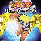 Naruto Uzumaki Chronicles 2 PS2 Complete Fast Shipping