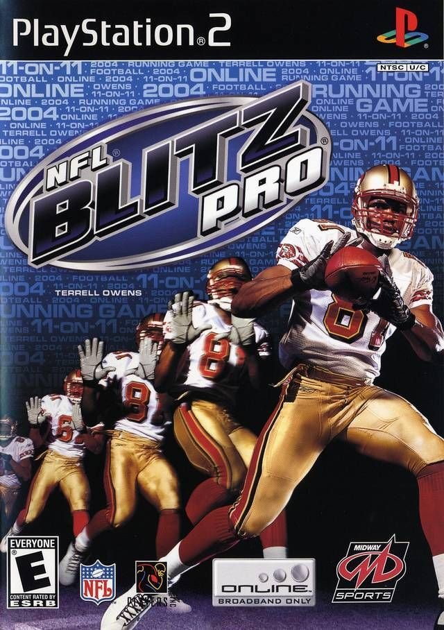 NFL Blitz Pro PS2 Great Condition Complete Fast Shipping