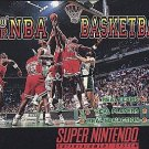 Tecmo Super NBA Basketball SNES Great Condition
