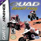 Quad Desert Fury GBA Great Condition Fast Shipping