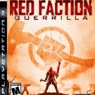 Red Faction Guerrilla PS3 Great Condition Complete Fast Shipping