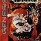 Sub Terrania Sega Genesis Great Condition Fast Shipping