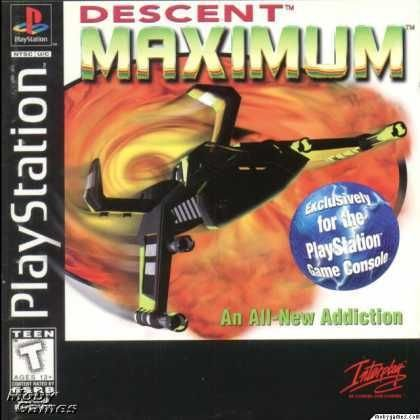 Descent Maximum PS1 Great Condition Fast Shipping