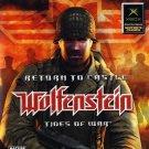 Return To Castle Wolfenstein Tides Of War Xbox Great Condition Complete