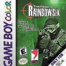 Tom Clancy's Rainbow Six Gameboy Color Fast Shipping