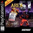 Area 51 PS1 Great Condition Complete Fast Shipping