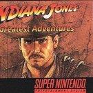 Indiana Jones' Greatest Adventure SNES Great Condition