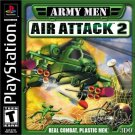 Army Men Air Attack 2 PS1 Great Condition Complete Fast Shipping