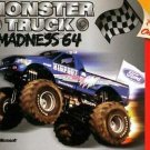Monster Truck Madness 64 N64 Great Condition Fast Shipping