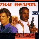 Lethal Weapon SNES Great Condition Fast Shipping