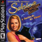 Sabrina The Teenage Witch A Twitch In Time PS1 Great Condition Complete