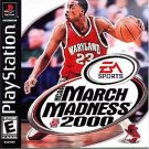 NCAA March Madness 2000 PS1 Great Condition