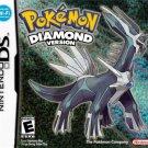 Pokemon Diamond Version Nintendo DS Great Condition Fast Shipping