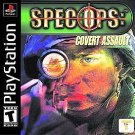 Spec Ops Covert Assault PS1 Great Condition Complete