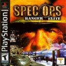 Spec Ops Ranger Elite PS1 Great Condition Complete