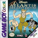 Disney's Atlantis The Lost Empire Gameboy Color