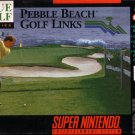 Pebble Beach Golf Links SNES Great Condition