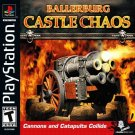Ballerburg Castle Chaos PS1 Great Condition Complete Fast Shipping