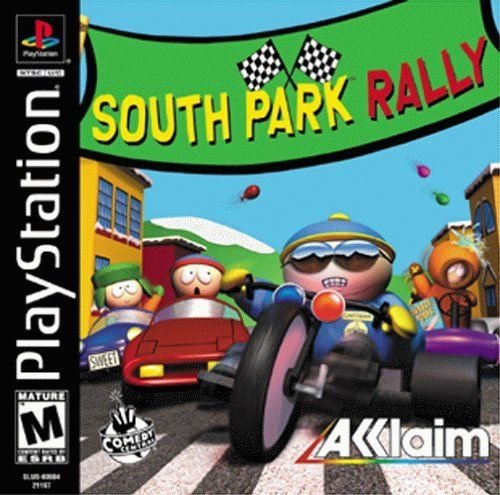 South Park Rally PS1 Great Condition Complete
