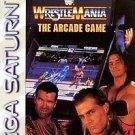 WWF Wrestlemania The Arcade Game Sega Saturn Great Condition Complete